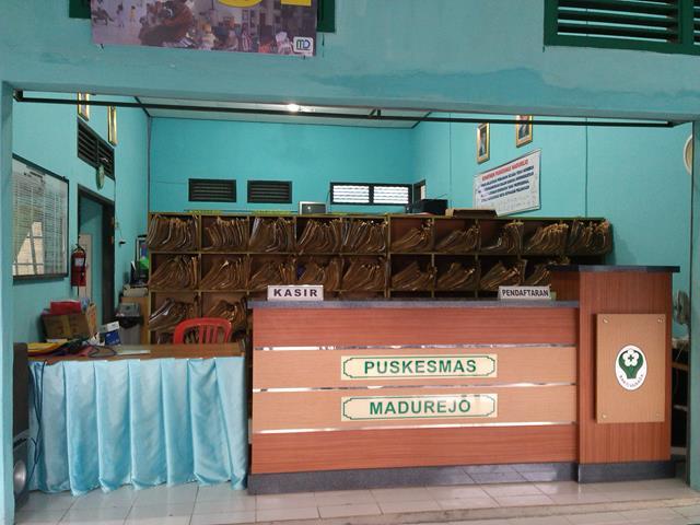Loket Pendaftaran dan Kasir