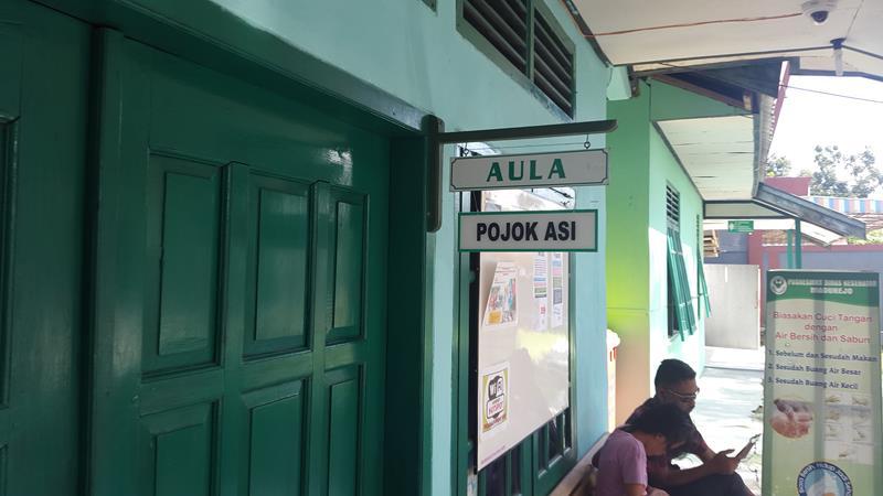 Aula, Ruang Imunisasi dan Pojok ASI